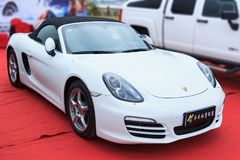 Exhibit Of Porsche Motor Show Royalty Free Stock Photo