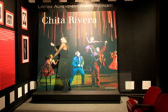 Exhibit to honor the success of Chita Rivera,Lifetime Achievement Recipient, National Museum Of Dance,Saratoga,2016 Stock Images