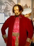 Exhibit of wax museum in Odessa Royalty Free Stock Photo
