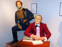 Exhibit of wax museum in Odessa Royalty Free Stock Photography