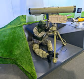 Exhibition of arms, Russia. Stock Image