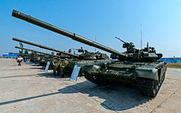Exhibition of arms, Russia. Royalty Free Stock Images