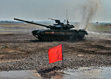Exhibition of arms, Russia. Stock Photography
