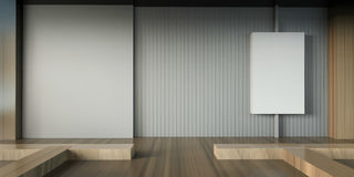 Exhibition Art and Gallery Modern Minimal Chair Royalty Free Stock Photo
