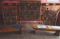Exhibition bast of birch bark, Royalty Free Stock Photos