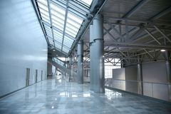 Exhibition center Stock Images