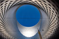 Exhibition Center in Basel Stock Images