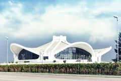 Exhibition Center BelExpo, Minsk, Belarus Royalty Free Stock Images
