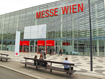 Exhibition center Vienna Royalty Free Stock Photo