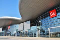 Exhibition centre Stock Photography
