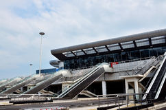 Exhibition centre. In wuhan city, hubei provicne, china Stock Photography
