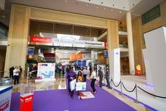 Exhibition centre interior Stock Photos