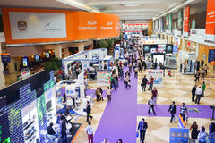 Exhibition centre interior Royalty Free Stock Photography