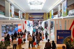 Exhibition centre interior Stock Image