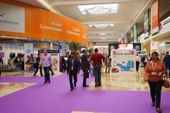 Exhibition centre interior Royalty Free Stock Photos