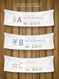 Exhibition concept infographic template design Stock Photo