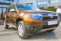 Exhibition of Dacia Duster Stock Image
