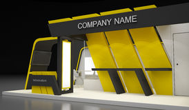 Exhibition Design Concepts Stock Images
