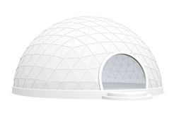 Exhibition dome tent Royalty Free Stock Photos