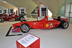 Exhibition Ferrari formula one Royalty Free Stock Photography