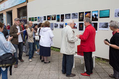 Exhibition Fotopasieka. Stock Image