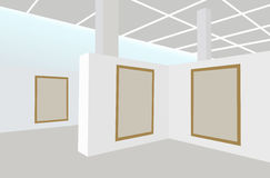 Exhibition frames vector Stock Photos