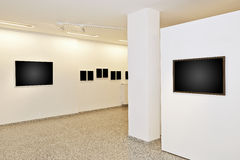 Exhibition gallery Stock Photography