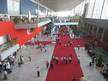 Exhibition hall Stock Photo