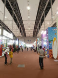 Exhibition hall canton fair 2013 Royalty Free Stock Images