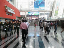 Exhibition hall canton fair 2013 Royalty Free Stock Photos