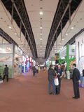 Exhibition hall canton fair 2013 Stock Photo