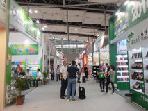 Exhibition hall canton fair 2013 Stock Photography