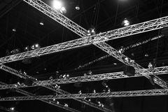 Exhibition Hall Ceiling Stock Photography