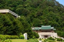 Exhibition Hall, Myohyang Mountain, North-Korea Royalty Free Stock Photo