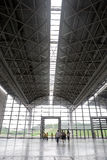 The exhibition hall of Nanning. The International Convention and Exhibition Center,Nanning,China.The China-ASEAN Expo in Nanning has become quite visibility and Royalty Free Stock Photos