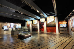 Exhibition hall in the National Grand Theatre Royalty Free Stock Photo