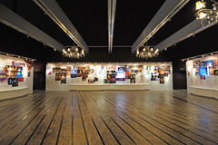 Exhibition  hall in the  National Grand Theatre Stock Photos