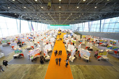 Exhibition Hall of 12th All-Russian Exhibition Stock Photo