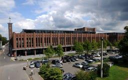 Exhibition halls   Rheinpark Stock Photo