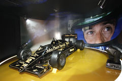 F1 Lotus JPS 98T, 1986 Stock Photography