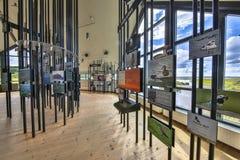 Exhibition Hornborgasjon visitor centre Stock Photography