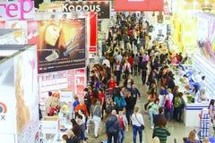 Exhibition INTERCHARM professional Stock Photo