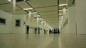 Exhibition interior Royalty Free Stock Image