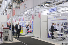 Exhibition Khimia 2013 in Moscow Stock Photography