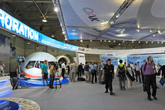 Exhibition MAKS-2011 Stock Image