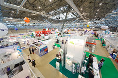 Exhibition of medical technologies in Russia Stock Photos
