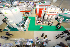 Exhibition of medical technologies in Russia Stock Photography