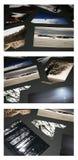 Exhibition mess Stock Photos