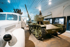 Exhibition at the Military Museums Manege On Fortress Island Of Royalty Free Stock Photos