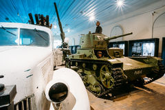 Exhibition at the Military Museums Manege On Royalty Free Stock Photos